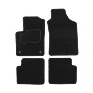 tapis auto fiat 500 2007 2015 tapis de voiture sol et coffre. Black Bedroom Furniture Sets. Home Design Ideas