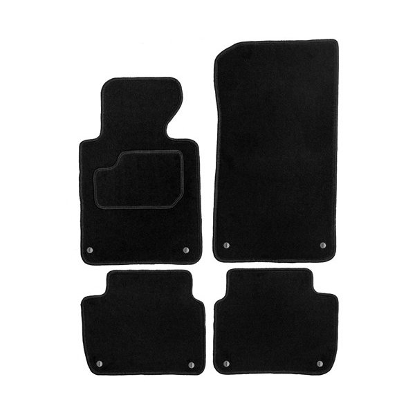 tapis de sol velour bmw serie 3 e46 1998 2004. Black Bedroom Furniture Sets. Home Design Ideas
